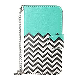 ZX Samsung S5 I9600 compatible Graphic/Special Design Plastic/PU Leather Full Body Cases/Cases with Stand