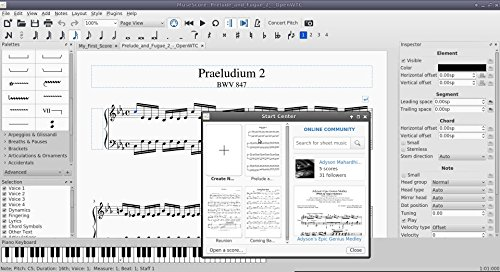 Music Score Writing Notation Composition Windows Mac PC Computer Software - Image 2