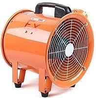 Ventilador axial, 12 pulgadas, protección contra explosiones, ventilador axial, 370 W, ventilador industrial: Amazon.es: Hogar