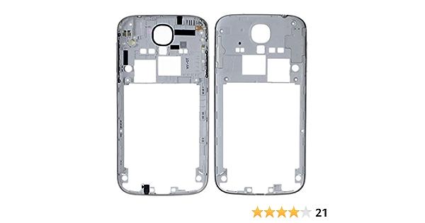 Ilovemyphone Repuesto Chasis Trasero Marco Lateral para Samsung Galaxy S4 I9500 I9505 Plata
