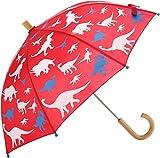 Hatley Boys' Little Printed Umbrellas, Dino Silhouettes, One Size