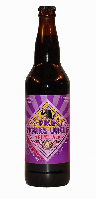 Pike Brewing Monks Uncle Tripel Ale 22 Oz Bottle 9 ABV Amazon