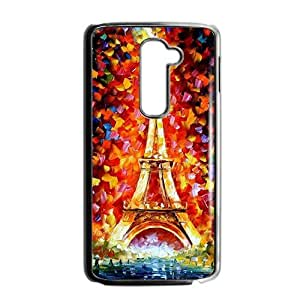 Colorful Eiffel Tower Phone Case for LG G2