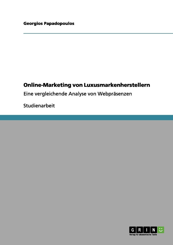 Download Online-Marketing von Luxusmarkenherstellern (German Edition) ebook