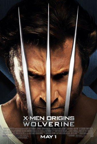 X-Men Origins Wolverine Movie Poster Double Sided Original 27x40