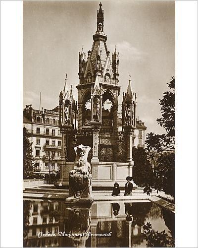 f Geneva, Switzerland - The Brunswick Monument (Switzerland Geneve Monument)