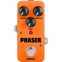 XuBa FPH2 Vintage Phaser Guitar Effect Pedal with True Bypass