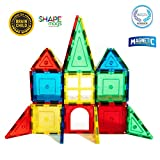 Toys : Award Winning Magnetic Stick N Stack SHAPE MAGS Junior set 32 pieces 8 different shapes