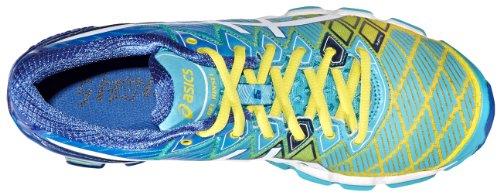 Kinsei 5 de en Chaussures Asics Turquoise Course Blanc Gel White Yellow Marine pple Ult Femmes XwR4qx1I