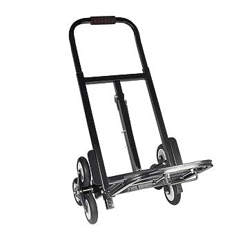 Carretilla de mano, 6 ruedas Carro de transporte Carrito transportador de Transporte Multifuncional Carrito,