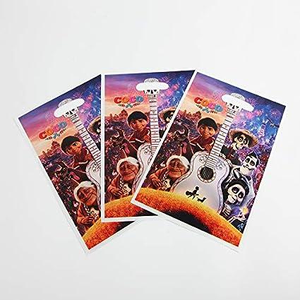 Tyro - Juego de 6 Bolsas de Regalo con diseño de Disney Coco ...