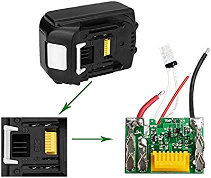 3.0Ah 18V Lithium Battery Protection PCB Board For Makita BL1840 BL1830 BL1815