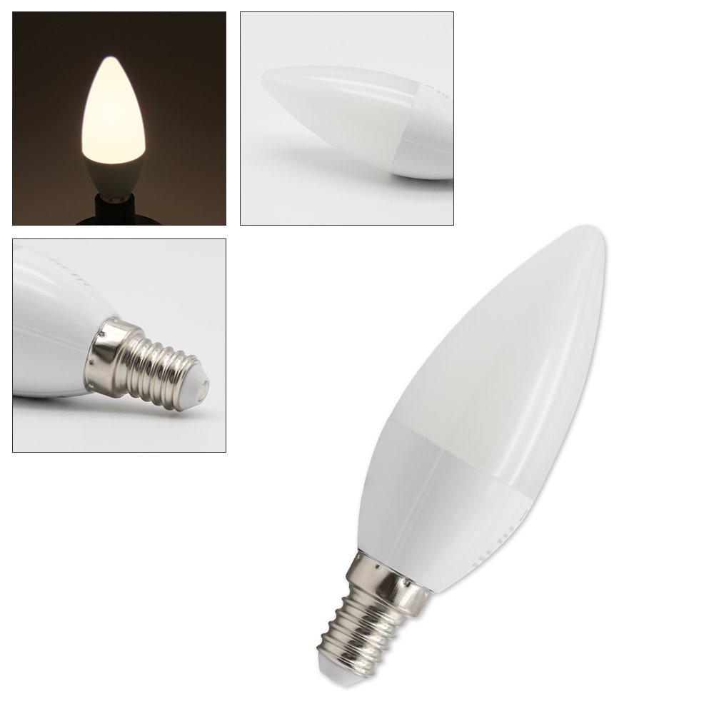 VINGO® E14 LED Bulb Glühlampe 3W Warmweiß Dimmbar SceneSwitch 3 in 1 ...