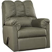 Flash Furniture Signature Design by Ashley Darcy Rocker Recliner in Sage Microfiber