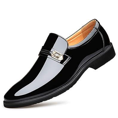 à en cuir pour garniture dentelle hommes Chaussures en brillante N8Omnv0w