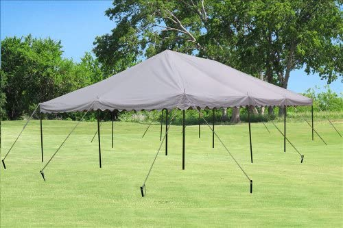 DELTA Canopies 30 x20 PVC Pole Tent – Heavy Duty Wedding Party Canopy Shelter – with Storage Bags