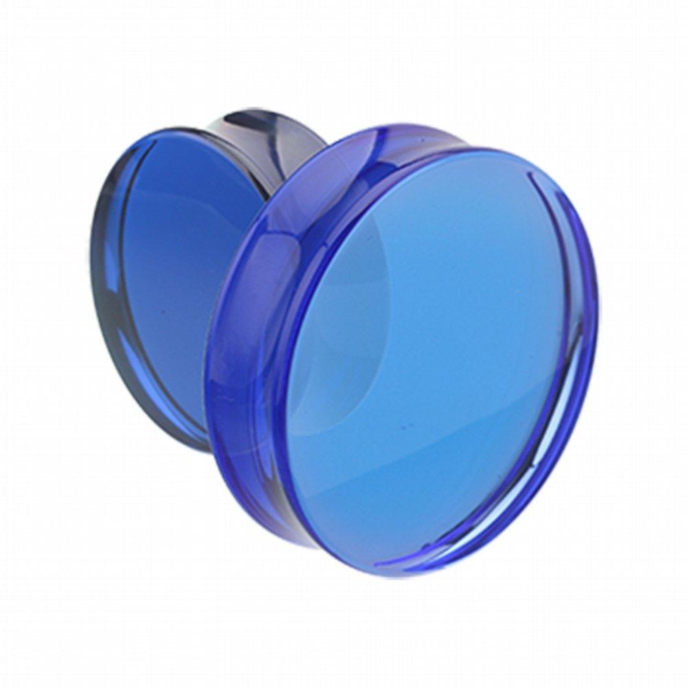 Sold as Pairs Supersize Basic Acrylic Double Flared WildKlass Ear Gauge Plug