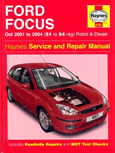 ford focus petrol and diesel 2001 2004 haynes service and repair rh amazon co uk ford fiesta 2004 repair manual ford fiesta 2004 repair manual