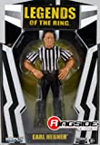 REFEREE EXCLUSIVE EARL HEBNER - RINGSIDE COLLECTIBLES DELUXE EXCLUSIVE TNA IMPACT JAKKS TOY WRESTLING ACTION FIGURE