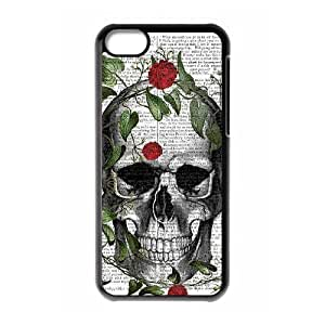 linJUN FENGProtection Cover Hard Case Of Artistic Skull Cell phone Case For iphone 6 4.7 inch