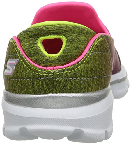 Aura Rosa Color 5 3 para Skechers de Deporte Walk Go 38 Talla Mujer Zapatillas qnvxzU1tw