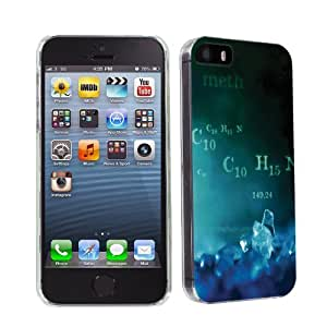 NakedShield - iPhone 5S / 5 Blue Crystal Ultra Slim Fit Design Phone Cover Case