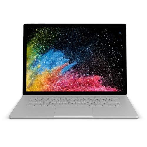 Microsoft Surface Book 9E2-00001 2-in-1 Laptop, Intel Core i7-6600U, 8GB RAM, 256GB...