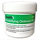 healthE - Emulsifying Ointment BP - Suitable For Eczema, Dermatitis, Psoriasis and Sensitive Skin (100g Pot)