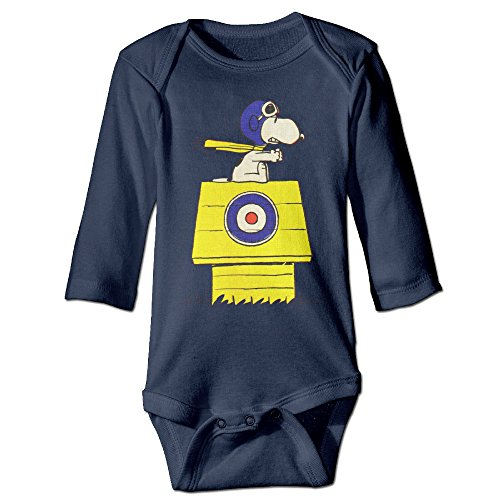 NINJOE Newborn Cartoon Dog Christmas Long Sleeve Baby Climbing Clothes