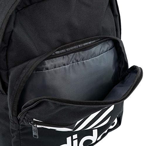 バックパック CL5498 Originals Trefoil Pocket Backpack 男女兼用 Black/White [並行輸入品]