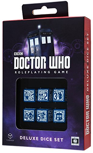 Doctor Dice - Cubicle 7 Dr Who Deluxe Dice Set (8 Players)