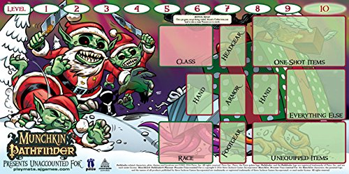 Steve Jackson Games SJG05613 Munchkin Playmat: Pathfinder unaccounted for, Mehrfarbig