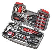 Apollo Tools DT9706 Juego de herramientas originales de reparación general de 39 piezas con estuche de almacenamiento para caja de herramientas