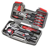 Apollo Tools DT9706 General Tool Set, 39-Piece