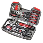 Apollo Tools Original 39 Piece General Repair Hand Tool Set with Tool Box Storage Case DT9706