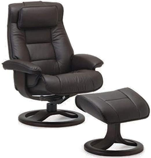 : Fjords Mustang Large Leather Recliner Chair and