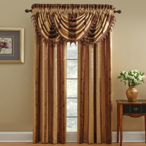 Croscill Swag (Chapel Hill by Croscill Marquis Waterfall Swag Valance, 48 by 33-Inch,)