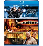Dwayne Johnson Triple Feature (The Scorpion King / The Rundown / Doom) [Blu-ray]