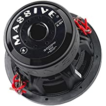 Massive Audio SUMMOXL154 - 15 Inch Car Audio 3000 Watt SUMMOXL Series Competition Subwoofer, Dual 4 Ohm, 2 Inch V.C