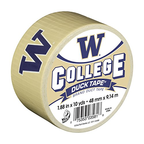 duck-brand-240285-university-of-washington-college-logo-duct-tape-188-inch-by-10-yards-single-roll