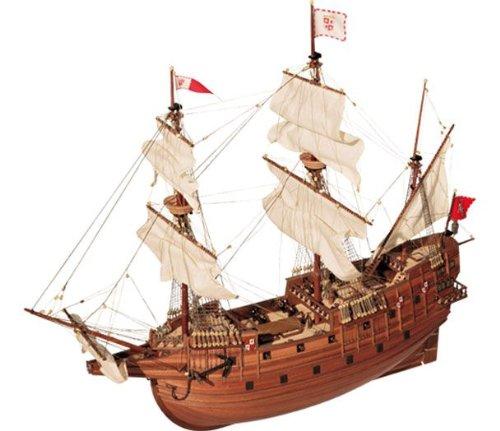 帆船模型キット サンマルタン (60分の帆船模型製作入門DVD及び和訳付き) B00BQ3JJ84