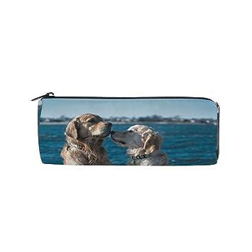 Estuche para lápices con diseño de perro para la playa, para ...