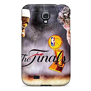 Archerfactory2002 Fashion Protective The Finals 2011 Miami Heat Versus Dallas Mavericks Lebron James And Dirk Nowitzki Cases Covers For Galaxy S4 Black Friday
