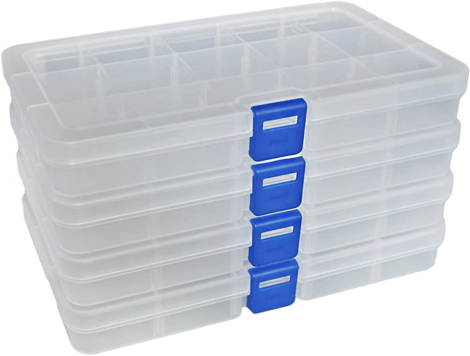 Small Storage Box with Compartments