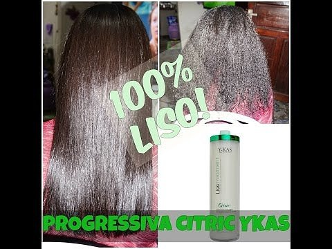 Y-Kas Citric Liss Treatmet Brazilian Keratin Hair Straightening Smoothing System Progressive Brush 1L by Y-KAS (Image #5)