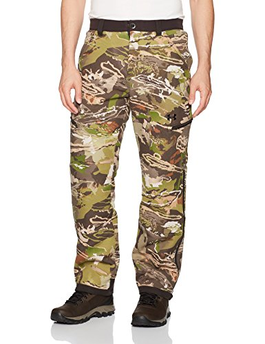(Under Armour Men's Charged Wool Primaloft Pants,Ridge Reaper Camo Fo (943)/Black,)