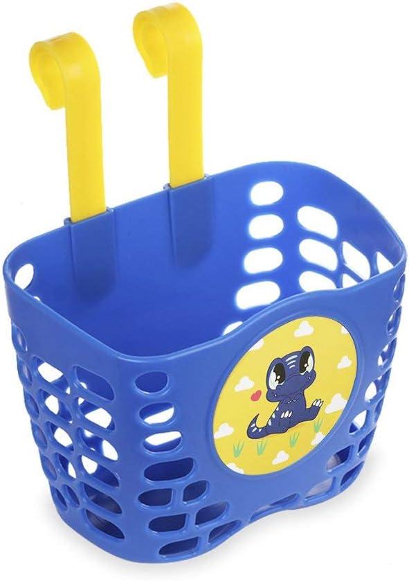 Cute Cartoon Fir MINI-FACTORY Kid/'s Bike Basket and Bell 2pcs Play Set for Boys