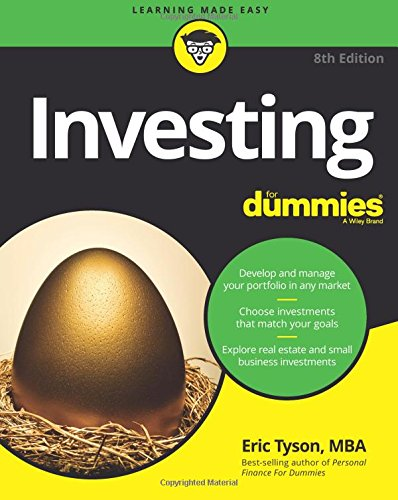 Investing For Dummies (For Dummies (Lifestyle)) [Eric Tyson] (Tapa Blanda)