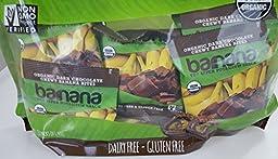 Barnana Organic Dark Chocolate Chewy Banana Bites 18 Pack