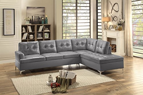 Buy leather sectional couch